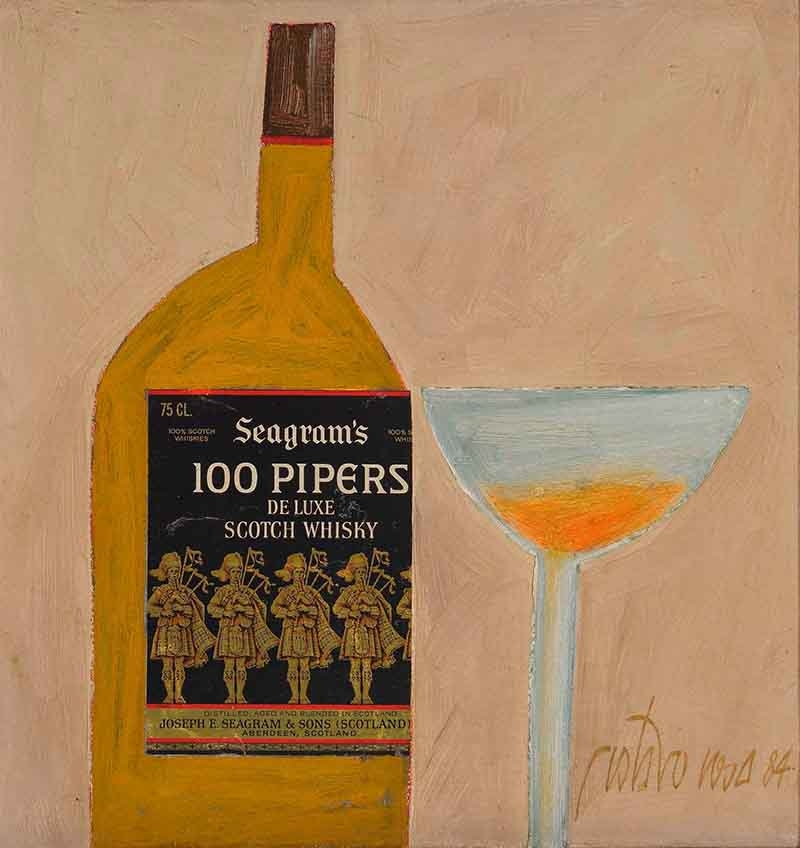 Seagrams 100 pipers